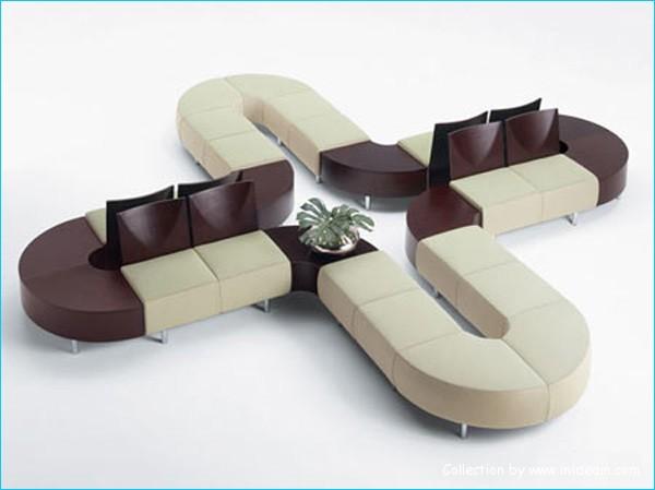 模块化设计的沙发
